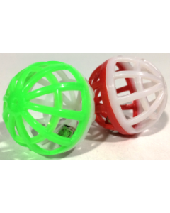 Plastic Lattice Balls Cat Toy