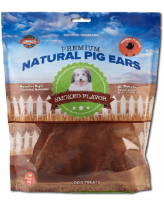 Lennox Natural Large Pig Ears 8 Pack