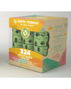 Loyal Friend 324 Eco-Friendly Unscented Poop Bags