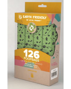 Loyal Friend 126 Unscented with Handle Poop Bags