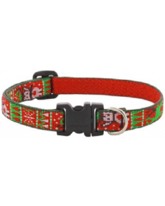 Lupine 1/2 10-14 Ugly Sweater Dog Collar