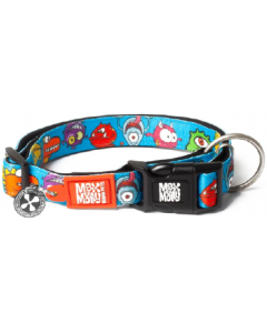 Max & Molly Smart ID Dog Collar Large Monsters