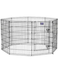 "Midwest 36"" Black 8 Panel Exercise Pen"