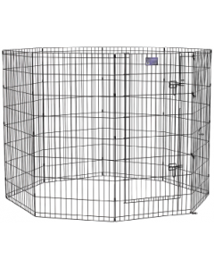 "Midwest 48"" Black 8 Panel Exercise Pen"