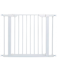 "Midwest 29""H Upto 29.5"" White Steel Gate"