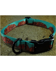 12-18 Mtn Straps Collar Canyon Walls