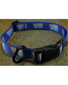 18-25 Mtn Straps Collar Mountain Blue