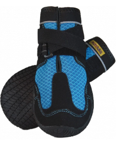 Size 1 Extra Extra Small - Extra Small Muttluks Mud Monster 2 Pack Blue Dog Boot