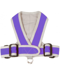 My Canine Kids Extra Small Purple Precision Dog Harness