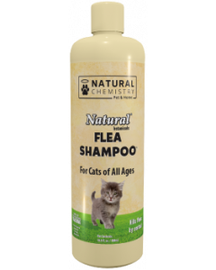 Natural Chemistry 16.9oz Flea & Tick Shampoo Cat