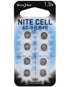 NiteIze 8 Pack LR41 Replacement Battery