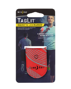 Nitize TagLit Magnetic LED Marker Red