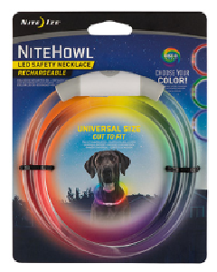 Niteize NiteHowl LED Rechargeable Safety Necklace - Disc-O Select