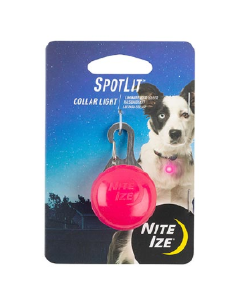 Niteize SpotLit Collar Light - Pink