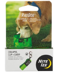 Nitize Raddog Collapsible Bowl Lime