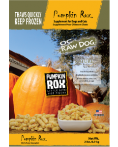 OC Raw Rox Pumpkin Dog Food 2lb