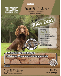 14oz Freeze Dried Goat Sliders Dog