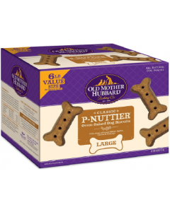 6# Old Mother Hubbard Large Old P-Nuttier Dog Treat