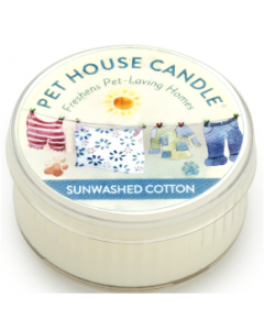 One Fur All Candle Sunwashed Cotton 1.5oz