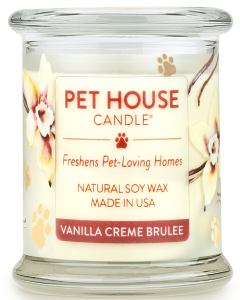 One Fur All Candle Vanilla Crme 8oz