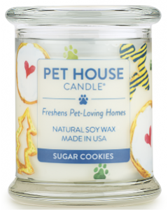 One Fur All 8.5oz.Sugar Cookie Candle