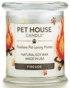 One Fur All Candle Fireside 8oz