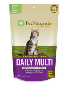 Pet Naturals 30CT Daily Multi Cat