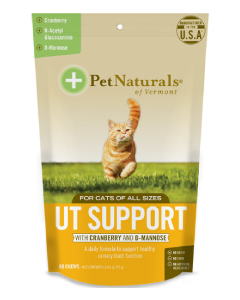Pet Naturals 60CT UT Suppport Cat