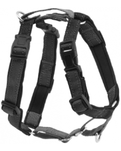 Premier Extra Small Black 3 In1 Dog Harness