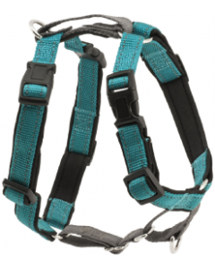 Premier Small Teal 3 In1 Dog Harness