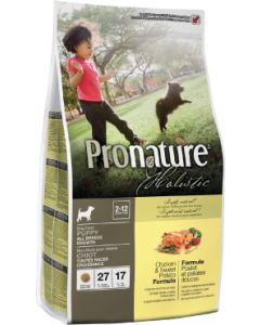Pronature Holistic Dog Chicken & Sweet Potato Growth Dog Food 6lb