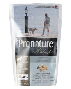 Pronature Holistic Dog Salmon Skin & Coat Dog Food .75lb