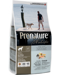 Pronature Holistic Dog Salmon Skin & Coat Dog Food 30lb