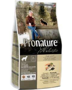 Pronature Holistic Dog Oceanfish Mature Dog Food 30lb