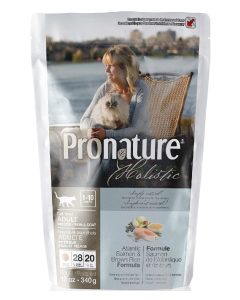 Pronature Holistic Cat Salmon Skin & Coat Cat Food .75lb