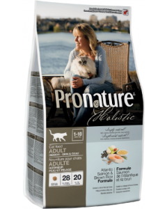 Pronature Holistic Cat Salmon Skin & Coat Cat Food 12lb