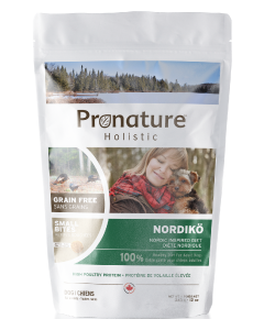Pronature Holistic Dog Food Nordiko Small Bites Dog Food .75lb