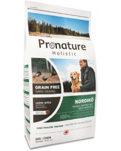Pronature Holistic Dog Food Nordiko Large Bites Dog Food 26.4lb