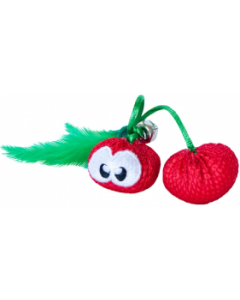 Outward Hound Dental Cherries Cat Chew Toy