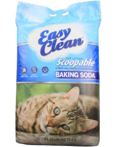 Pestell Easy Clean with Baking Soda Cat Litter 40lb