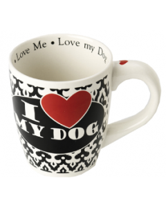 Petrageous 28oz. I Love My Dog Mug