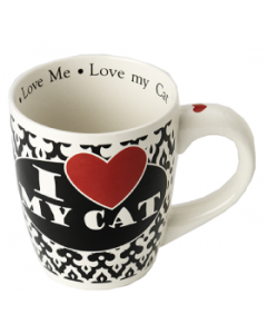 Petrageous 28oz. I Love My Cat Mug