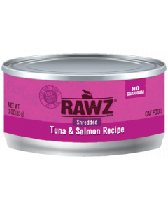 3oz Rawz Shredded Tuna & Salmon Liver Canned Cat Food