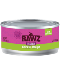 3oz Rawz Shredded Chicken Canned Cat Food