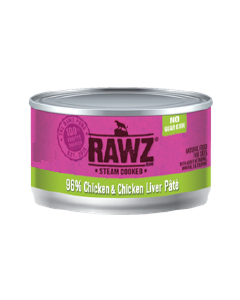 3oz Rawz 96% Chicken Liver Cat Can