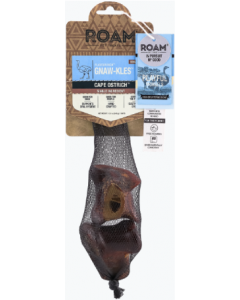 Roam Pet Treats 2 Pack Small Ostrich Gnaw-Kles