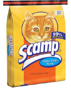 Scamp Cat Litter 25lb