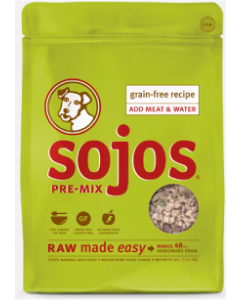 Sojo's Grain Free Fruit Vegetable Mix A Meal Dog Food 2lb