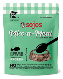 Sojos Mix-A-Meal Chicken Dog Food 8oz