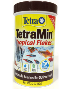 2.2oz. TetraMin Tropical Fish Flakes